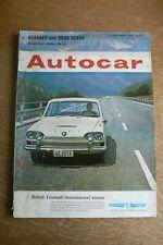 Autocar Magazine 11 September 1964 Triumph 2000 BMW 700 Ford Cortina