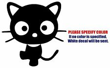 "CHOCOCAT Funny Graphic Die Cut decal sticker Car Truck Boat Window 6"""
