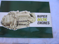 Railwayana: Napier Deltic Engines Sales Catalogue