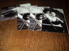 SHEILA LOT DE PHOTOS FORMAT 10*15 N&B - THEME 027 CHAISE LONGUE - 4 PRISES