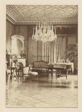 Salon bourgeois Décoration Piano Paris ? France Photographie Vintage