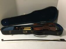 French Mirecourt A La Ville De Cremone Violin, Paul Safran & Son/Nice Bow/Case