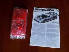 Kit Tamiya N. 24098 Cabin R90V Nissan Endurance Scala 1/24 Set Model Maquette