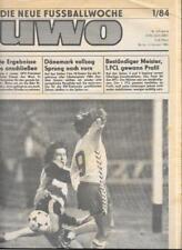 Die neue Fussballwoche-FUWO-DDR 1984..1/84 bis 26/84...25 x Wochenzeitungen