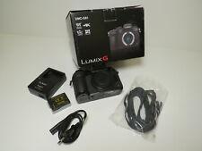 Panasonic Lumix DMC-G81 schwarz -Digitalkamera- einwandfreier Zustand mit OVP