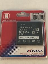 New!! 1200 mAh Standard Lithium Li-Ion BATTERY For LG AT&T C900 C-900 Quantum