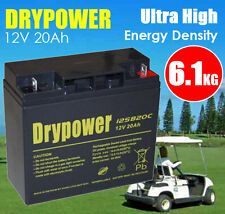 Drypower 12V 20Ah AGM SLA Deep Cycle Sealed Lead Acid Battery >17 18Ah