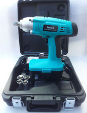 "MOSS High Torque 24v 1/2"" Drive cordless impact wrench with 1 Hour Charger"