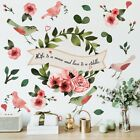 Colorful Floral Plants Flowers Wall Sticker Art Decal Home Decoration Ornament