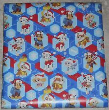 AMERICAN GREETINGS PAW PATROL CHRISTMAS Wrapping PAPER 20 SQ FT FOLDED