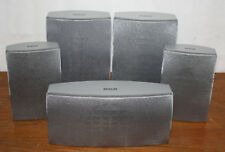 RCA 5.0 Speaker Set RTD300, Silver Home Theater Surround Sound, Center Front SAT