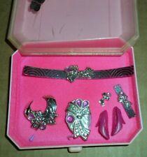 Barbie .1986 Perfume Pretty Jewelry.Pink