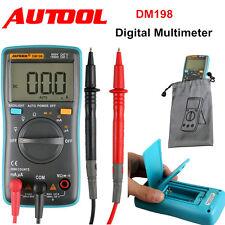 AUTOOL DM198 Pocket Mini Portable AutoMeter Ranging Digital Multimeter Tester