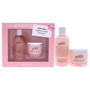 Philosophy Youre Amazing 8oz Shampoo, Bath and Shower Gel Amazing Grace, 4oz