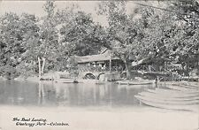 The Boat Landing & Lake House at Olentangy Park in Columbus, Ohio - Early 1900's