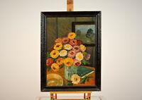 """Ölgemälde, im Gemälde signiert """"H. Vogel"""" (1855-1934) - Stillleben - [45.399]"""