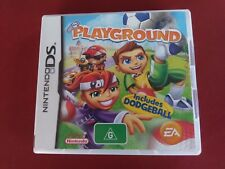 EA Playground Nintendo DS game - complete - free post