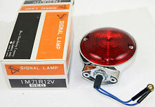 68508-64 Harley Davidson 12V Double Contact Red Lens Rear Turn Signal 68552-70