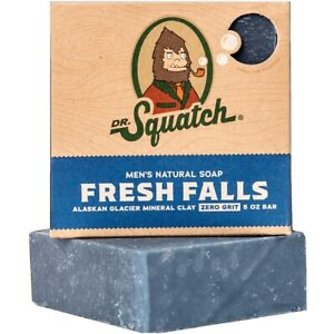Dr. Squatch Fresh Falls Soap 5 OZ hendmade Natural Made in USA