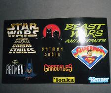 Catalogo Catalog TONKA KENNER Action Figure Vintage Toys Star Wars Batman DC