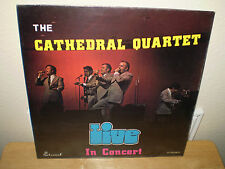 "THE CATHEDRAL QUARTET...""IN CONCERT""...""LIVE""......NEW SEALED LIVE CONCERT ALBUM"