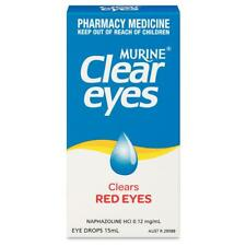 ツ MURINE CLEAR EYES CLEARS RED EYES 15ML EYE DROPS RELIEVES EYE IRRITATION