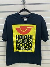 Haight Ashbury Food Program Size Large Black- Graphic Gildan T-Shirt