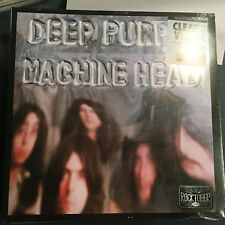 Deep Purple Machine Head Clear Vinyl LP Record SEALED