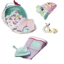 "American Girl BITTY BABY ACCESSORY PACKAGE for 15"" Doll Sippy Rattle Blanket NEW"