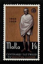 Malta 1969 Gandhi SG415 MNH
