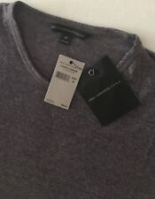 John Varvatos Star USA NWT Men's T-Shirt Faded Plum Crew Neck Size M New$90.00