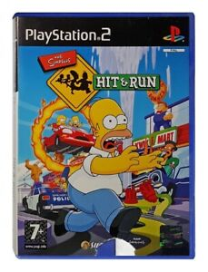 THE SIMPSONS: HIT & RUN (PS2 Game) Playstation 2 C