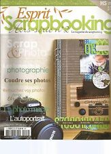 ESPRIT SCRAPBOOKING HS N°02 SCRAP & PHOTOS
