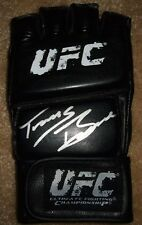 """Travis """"Hapa"""" Browne Signed UFC Glove w/ PROOF Autographed Auto MMA Full Sig"""