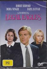 LEGAL EAGLES - ROBERT REDFORD - DEBRA WINGER - DARYL HANNAH -  DVD - NEW