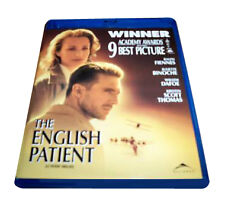 THE ENGLISH PATIENT (Blu-ray Disc, 2009, Canadian) New / Sealed / Free Shipping