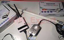 WiFi 8dBi Fiberglass Ant+ ALFA R36 + G Netw Long Range Booster GET FREE INTERNET