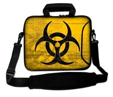 "17"" LAPTOP BAG WITH HANDLE & SHOULDER STRAP 4 ALL MAKES *FREE POST*RADIOACTIVE*"