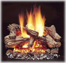"Majestic Duzy 3 Gas Logs - Remote Ready - 30"" - Natural Gas"