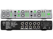 BEHRINGER AMP800 MINIAMP AMPLIFICATORE PER CUFFIE STEREO 4 CANALI