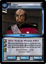 Star Trek CCG 2E Promo Worf, First Officer FOIL 0P24