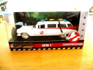 Jada Hollywood Rides Ghostbusters Ecto 1 SEALED 1/32 Scale Die Cast Ambulance
