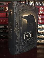 Edgar Allan Poe Complete Tales & Poems Brand New Hardcover Usher Tell Tale Raven