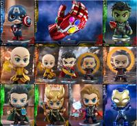 Hot Toys Cosbaby Bobble-Head Doll Avengers: Endgame Marvel Super Hero Figure Toy