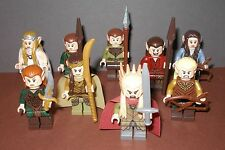"""Lego Herr der Ringe / Der Hobbit - Auswahl Minifiguren - """"Elben"""" Legolas , Arwen"""