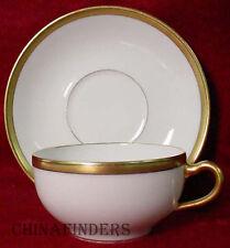 HAVILAND china BRETON Schleiger 128 Cup & Saucer Set