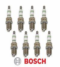 MECEDES BENZ OEM Super Yttrium BOSCH F8DC4+ Spark Plugs 8-PC W124 R129 W140 W210