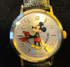50 Happy Years Commemorative Mickey Mouse Watch N.O.S. in box!!!