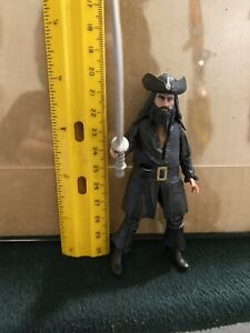 2011 Blackbeard Jakks Figure Disney Pirates Of The Caribbean loose