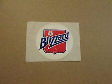 NASL Toronto Blizzard Vintage Defunct Logo Team Sticker